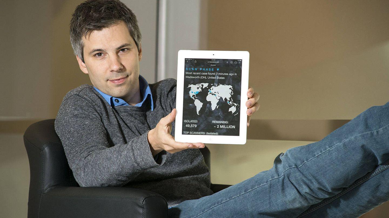El epidemiólogo Marcel Salathé, profesor en la Escuela Politécnica Federal de Lausana (Foto: Penn State)