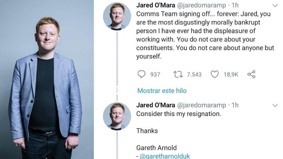 Un 'mic drop' épico: el jefe de prensa de un político 'secuestró' su Twitter para dimitir
