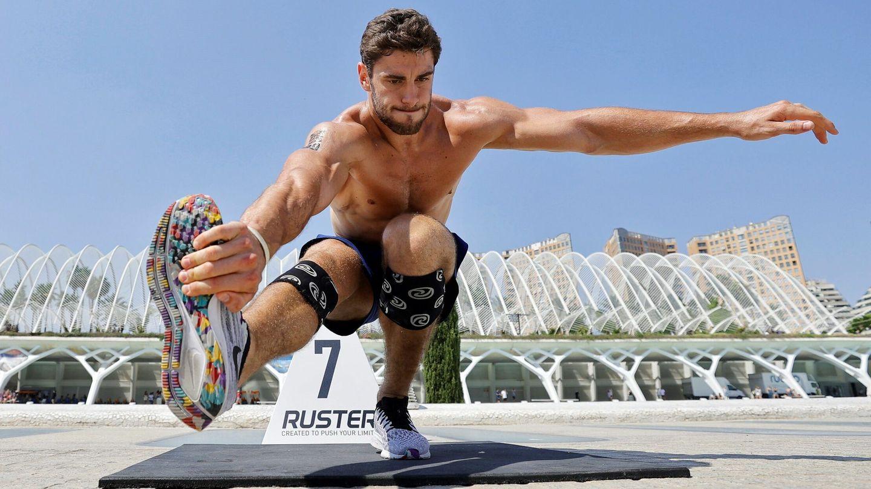 Competición de 'fitness' en Valencia. (EFE)