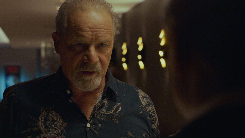 Pearl habla con su entrenador, interpretado por Peter Mullan. (Surtsey)