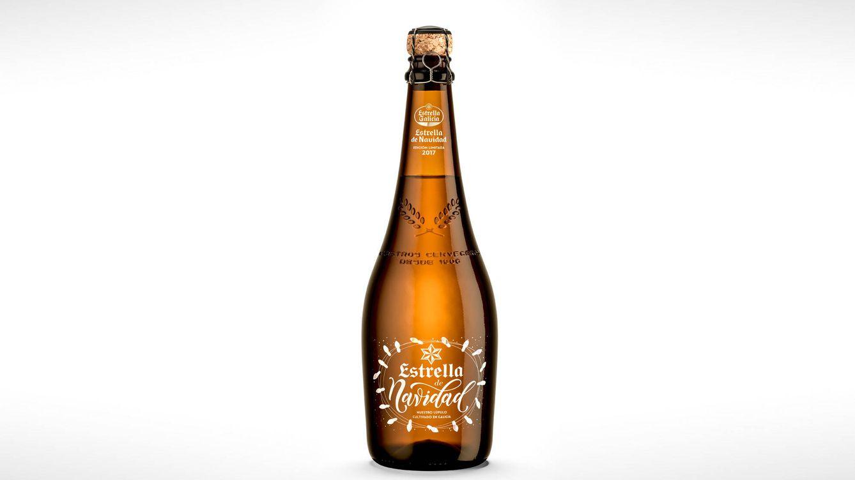 Foto: La nueva Estrella de Navidad es una cerveza muy equilibrada, bien carbonatada y de cuerpo ligero que, en boca, resulta dulce y amarga por igual.