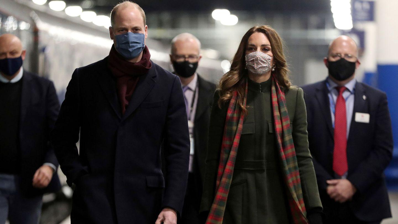 Los duques de Cambridge, en Londres. (Reuters)