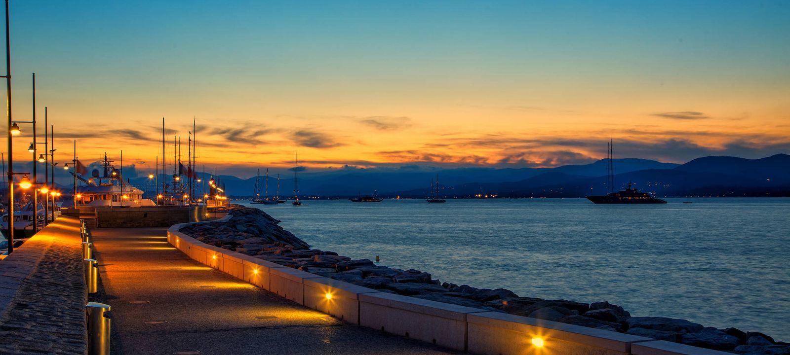 Foto: St Tropez sunset