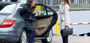 Post de La reina Letizia y doña Sofía reaparecen tras el rifirrafe para visitar a don Juan Carlos