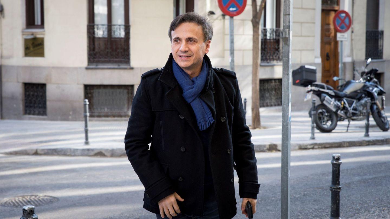 José Mota, nominado a la 32º edición de los Goya, llega a la Academia del Cine. (EFE)