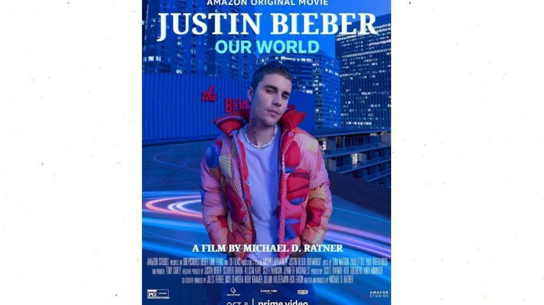 Cartel de 'Justin Bieber: Our World'