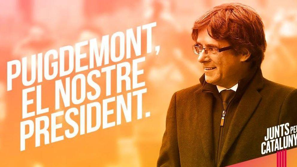 El lema de Junts Per Catalunya para el 21-D: Puigdemont, nuestro presidente