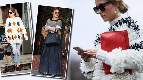 De Dakota Johnson a JLo, tres formas perfectas de llevar prendas de punto