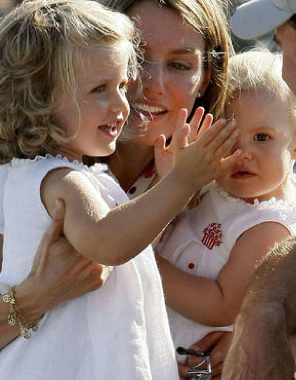 Las niñas Sofía y Leonor serán un día gemelas