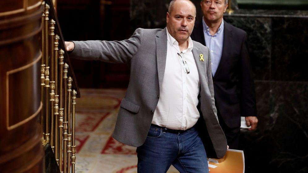 Foto: El diputado de ERC Jordi Salvador. (EFE)