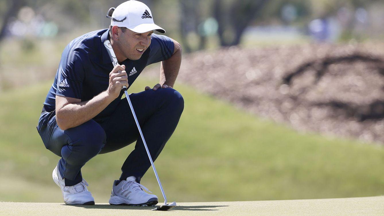 Foto: Sergio García, durante el PGA Championship celebrado en mayo. (EFE)