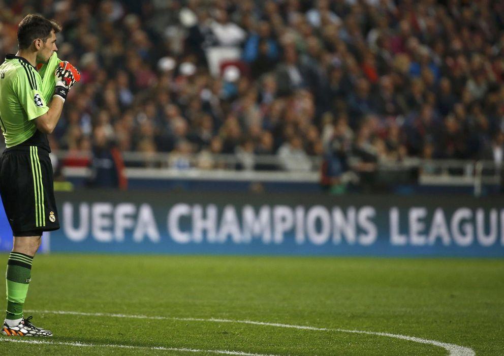 Foto: Las dudas de Casillas comenzaron en la final de la pasada Liga de Campeones.