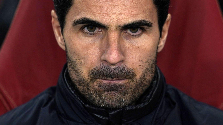 Mikel Arteta, entrenador del Arsenal. (EFE)