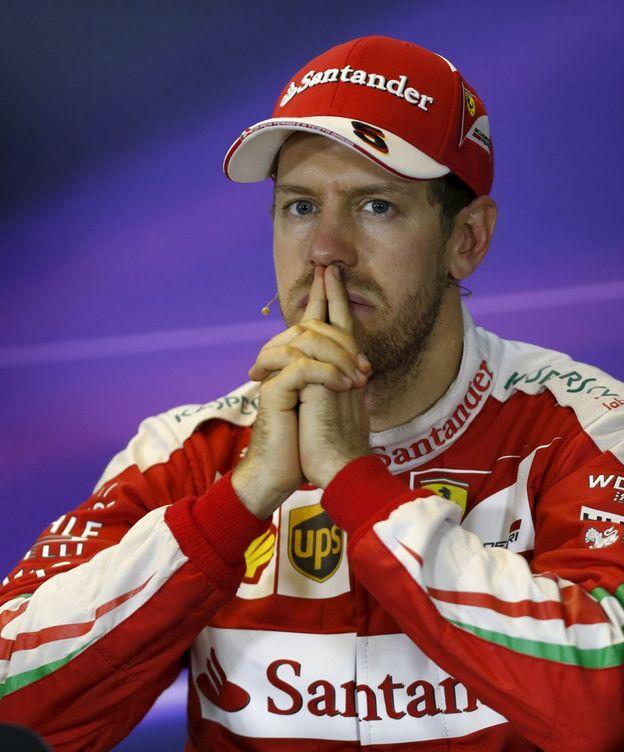 Foto: Sebastian Vettel tras el pasado GP de Australia.