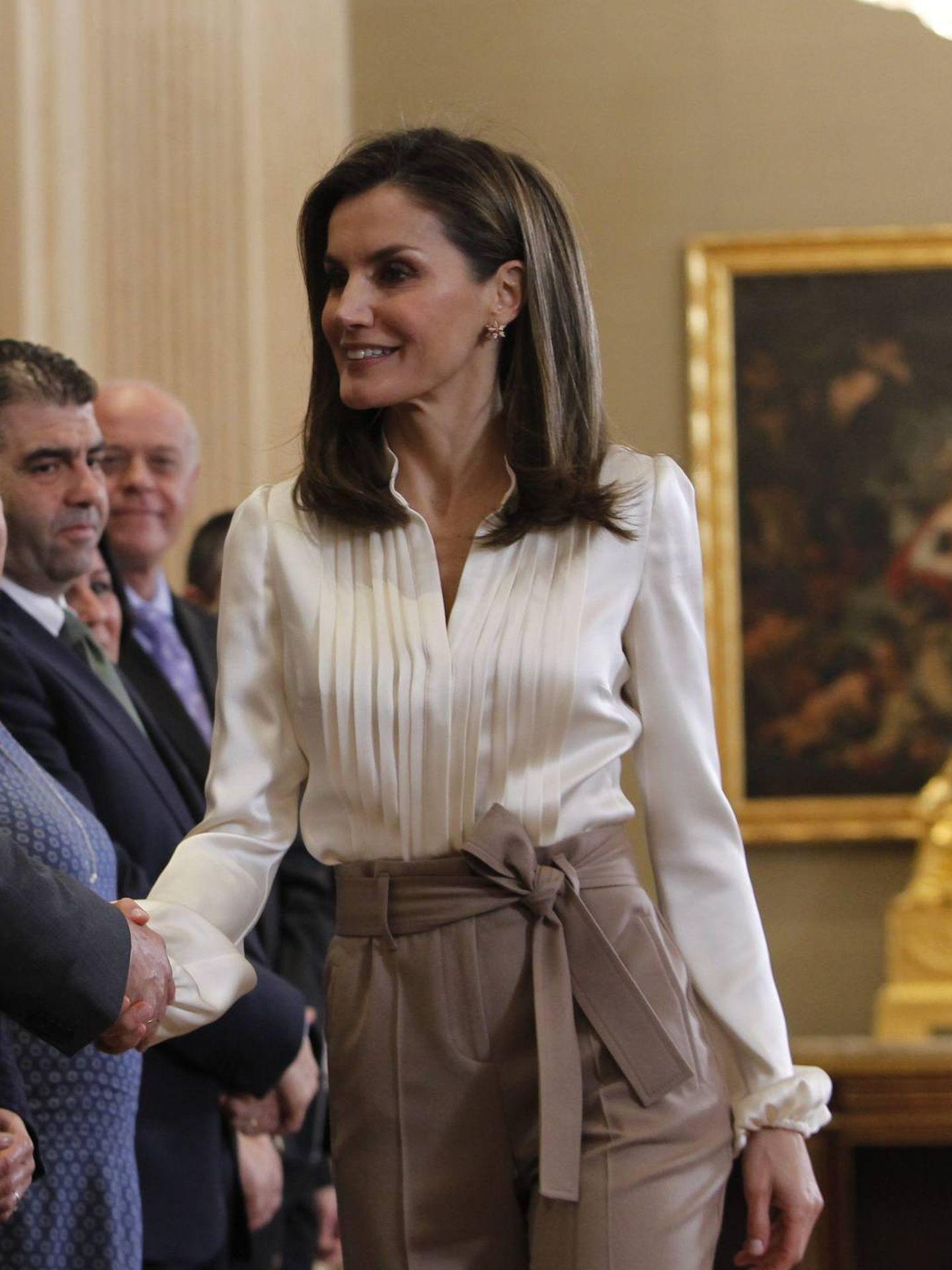 La reina Letizia. (Cordon Press)