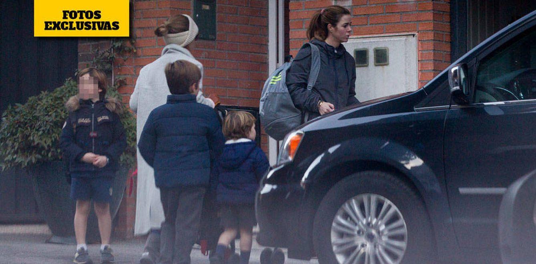 Foto: Amelia Bono y su prole estrenan casa de millón de euros en Madrid.