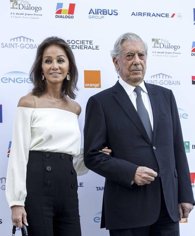 Foto: Isabel Preysler y Vargas Llosa (Gtres)