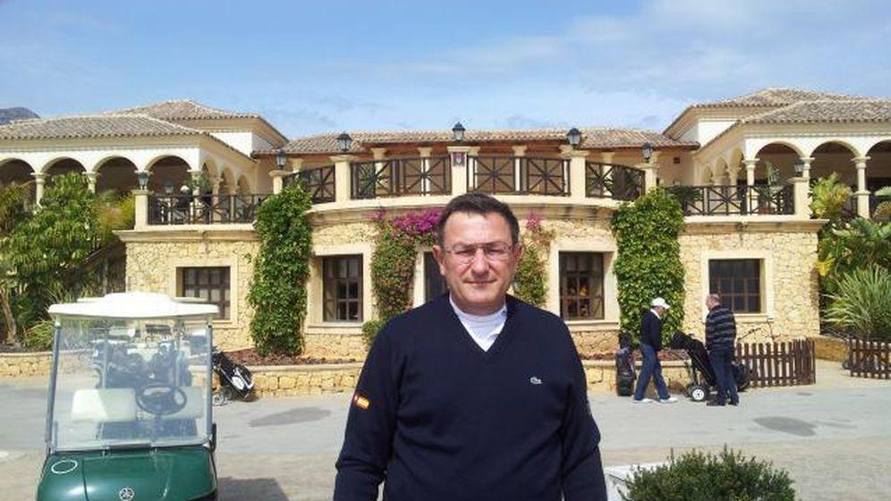 Foto: Luis Gabarda, en el Balneario de Mondariz. (RFE)