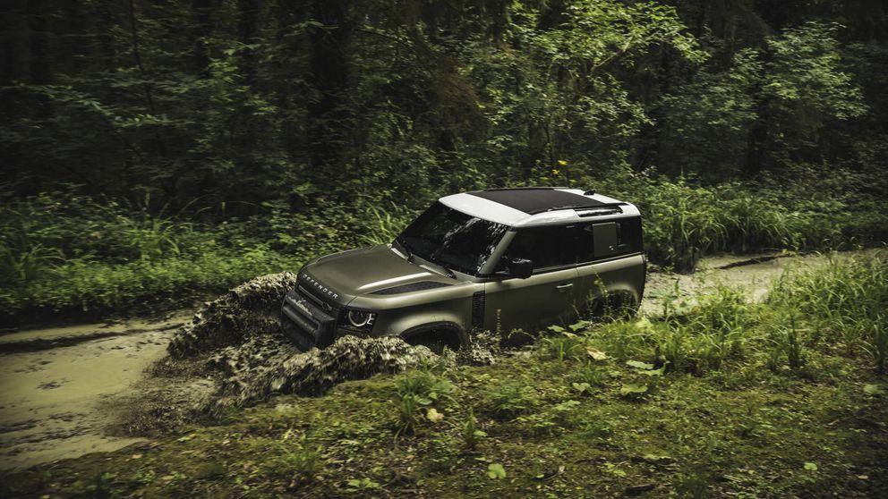 El todoterreno imparable y más potente fabricado por Land Rover: Defender 90