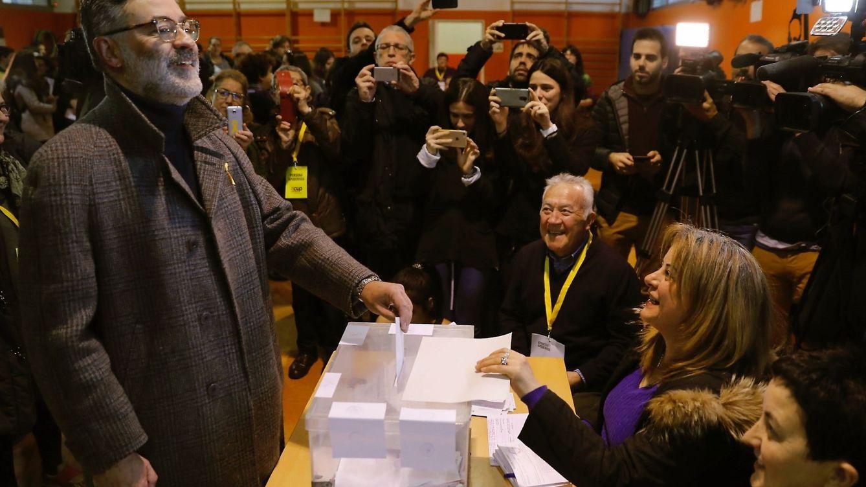 Riera asegura que la CUP aspira a ganar las elecciones para revertir el golpe Estado
