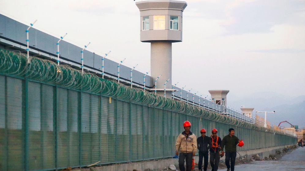 Foto: Foto de archivo de un Centro educativo de cualidades vocacionales en Xinjiang, cerca de la capital Urumqi. (Reuters)