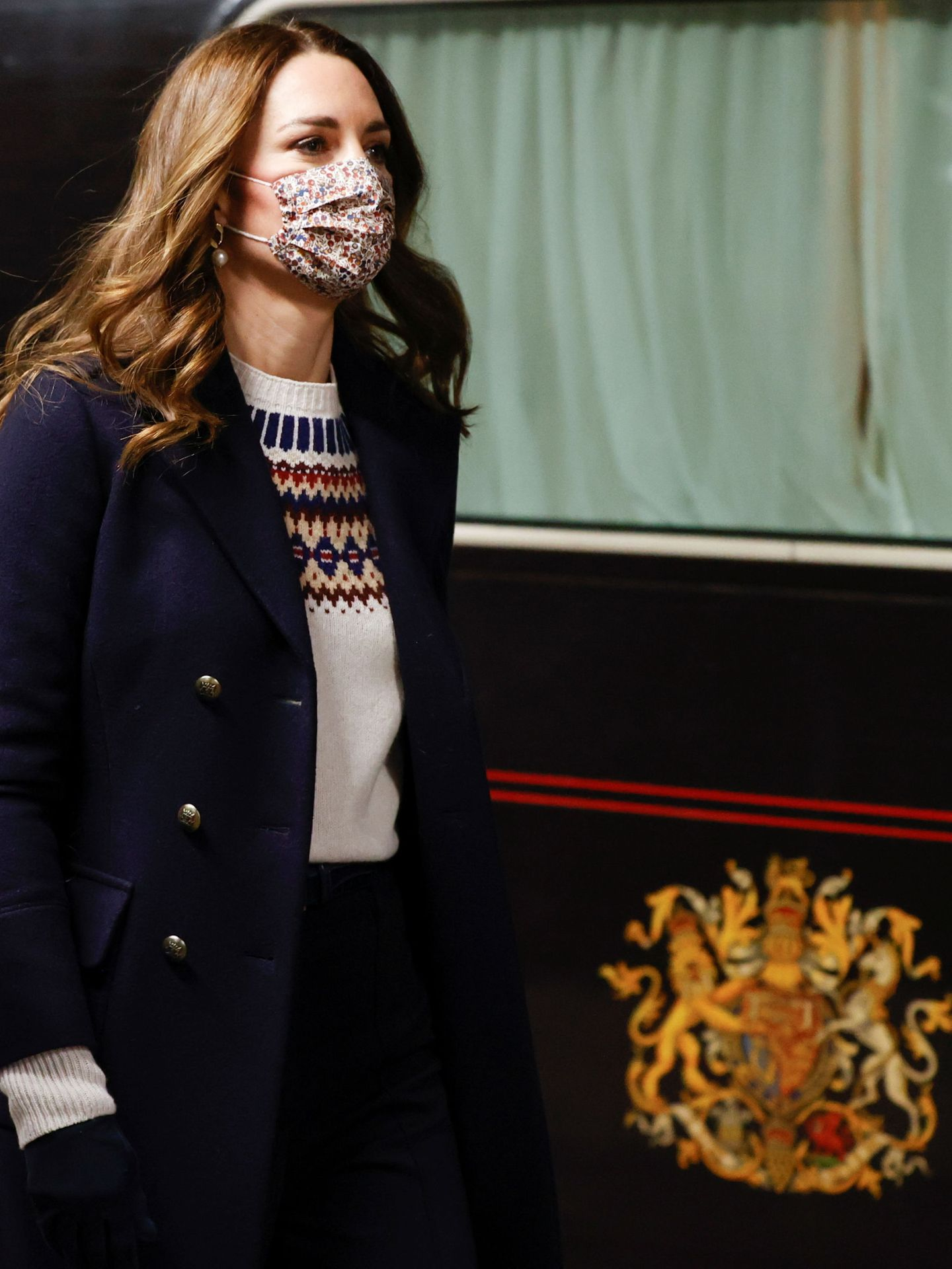 Kate Middleton, en Mánchester. (Reuters)