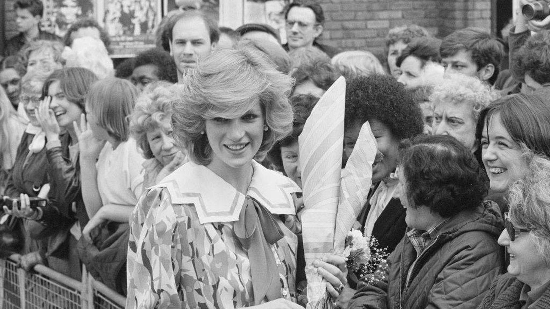 Diana de Gales, en la década de los 80. (Getty)