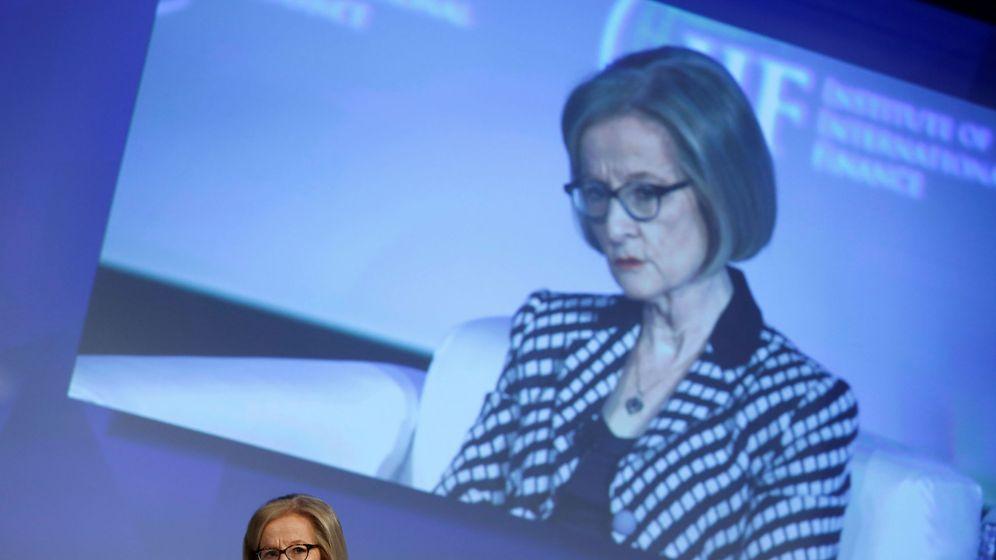 Foto: Danièle Nouy, presidenta del Mecanismo de Supervisión del BCE. (Reuters)