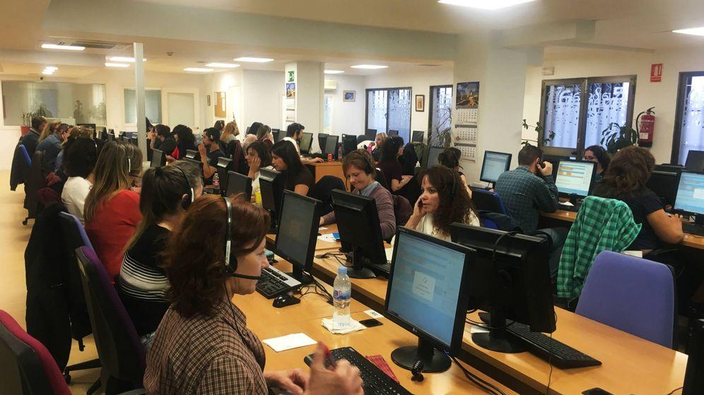 Foto: Sede de Metroscopia un día de encuestas electorales. (M. Z.)