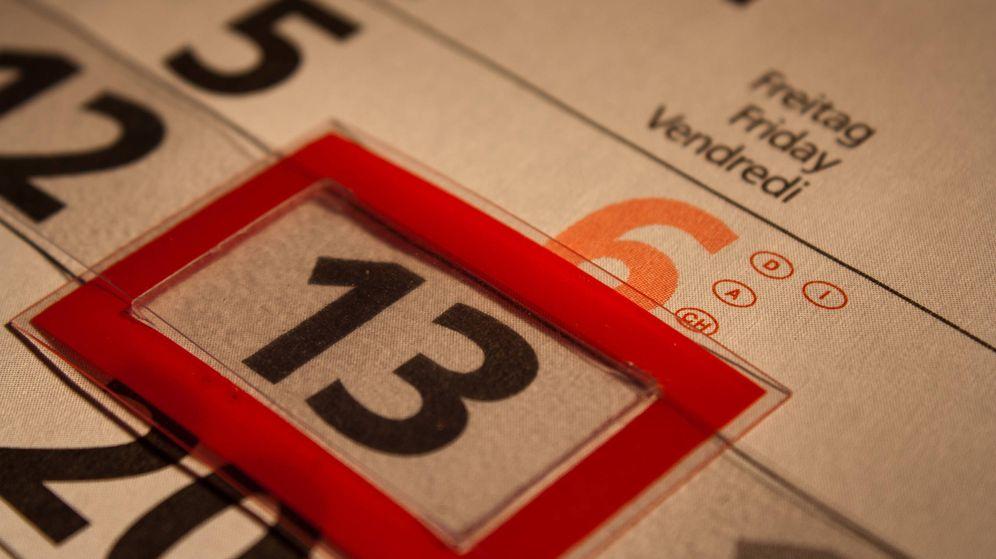 Foto: Calendario: viernes 13 (Dennis Skley)