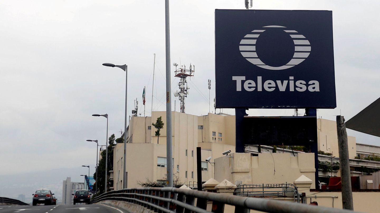 Exterior de la sede de Televisa en México. (Reuters)
