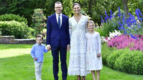 Estelle y Oscar, protagonistas involuntarios del cumpleaños de Victoria de Suecia