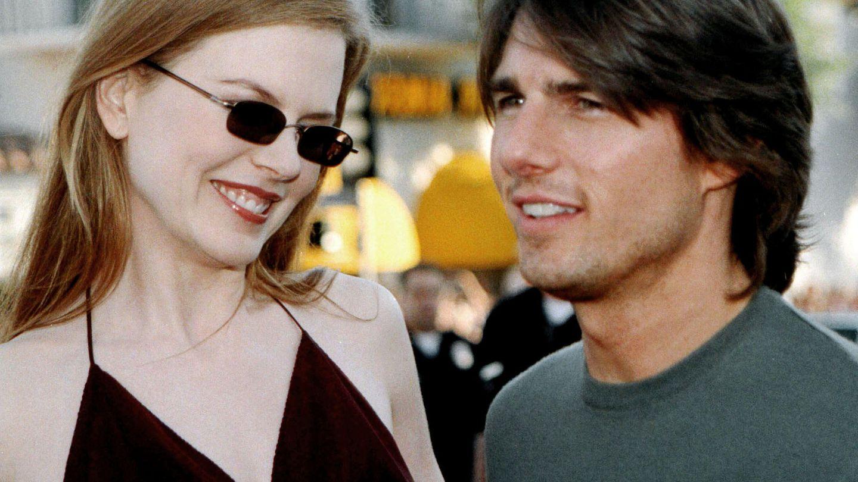 Nicole Kidman, junto a Tom Cruise en 1999. (Gtres)