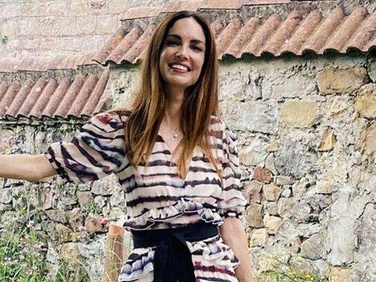 Foto: Eugenia Silva nos enamora con este vestido de rebajas de Pedro del Hierro. (Instagram @eusilva)
