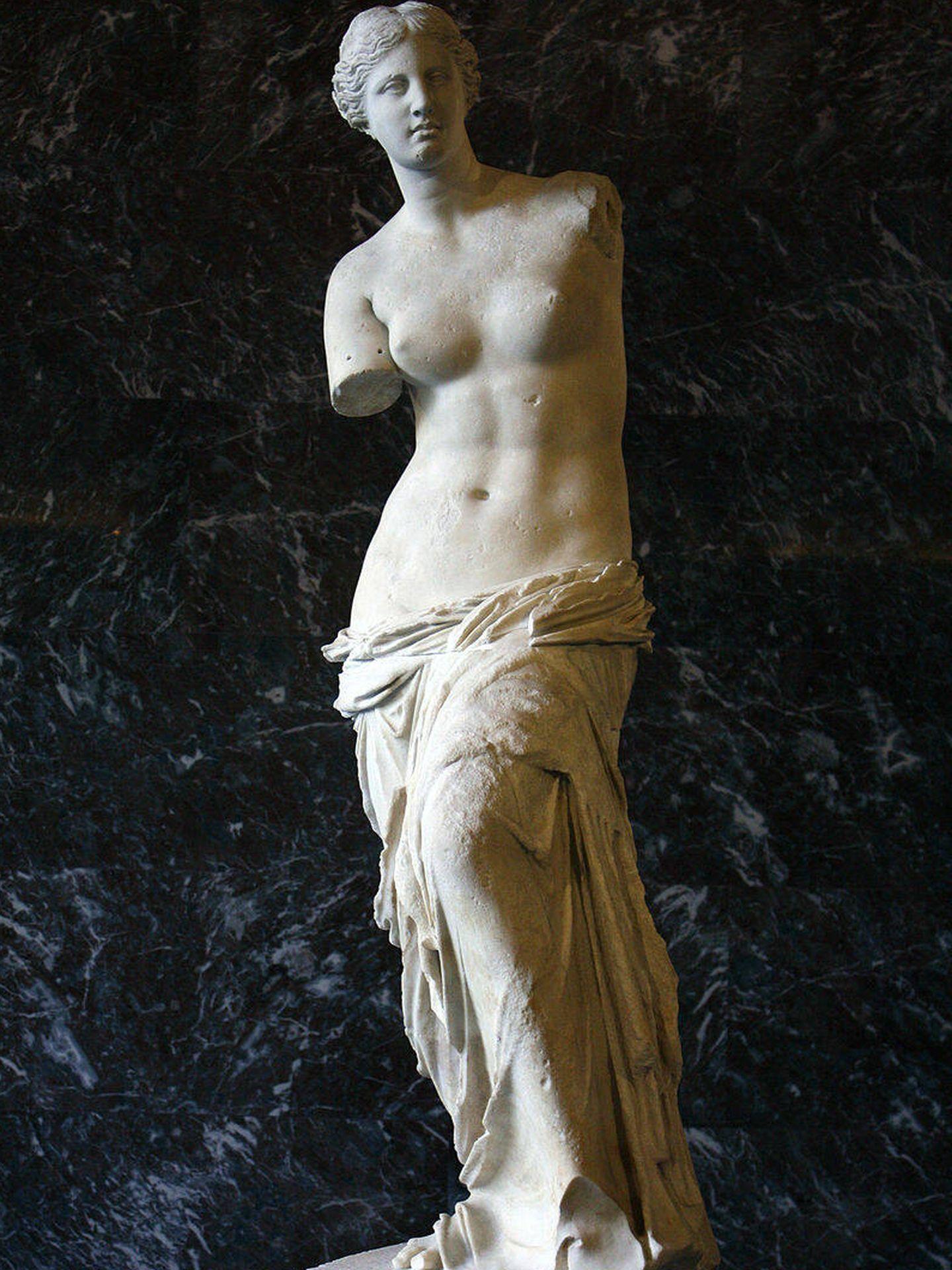 La famosa Venus de Milo.