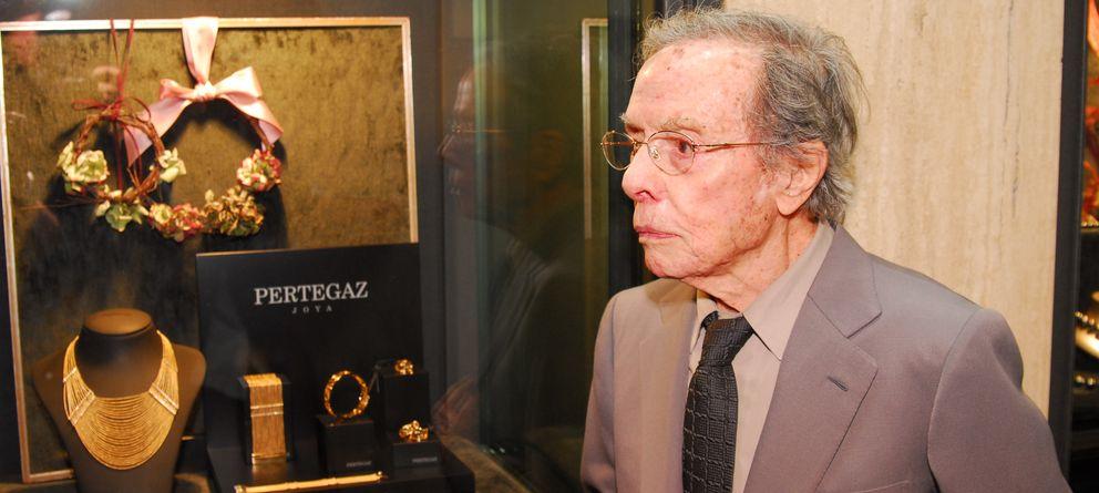 Foto: En el último acto al que acudió, como diseñador de joyas (Luis Romo)