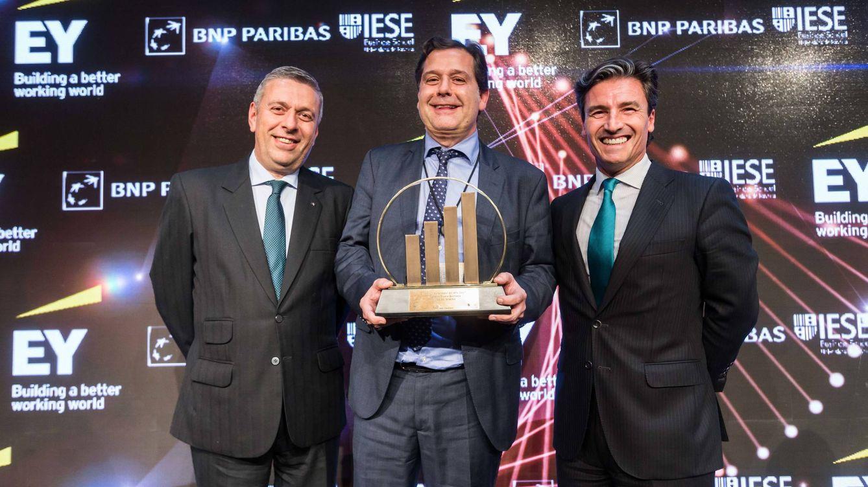 Ignacio Rivera, CEO de Hijos de Rivera, recibe el Premio Emprendedor del Año 2017