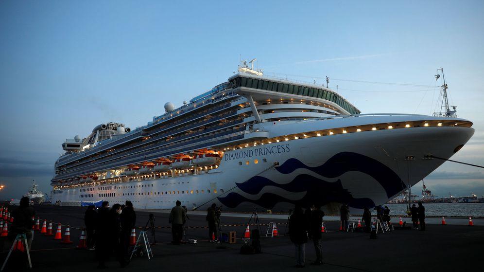 Foto: Tokio ha dejado en cuarentena a los pasajeros de un crucero con varios casos de coronavirus (Reuters/Kim Kyung-Hoon)