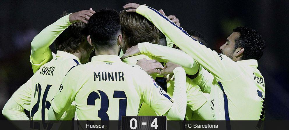 Foto: Vuelve Iniesta, aparece Samper y el centro del campo del Barcelona recupera el tino