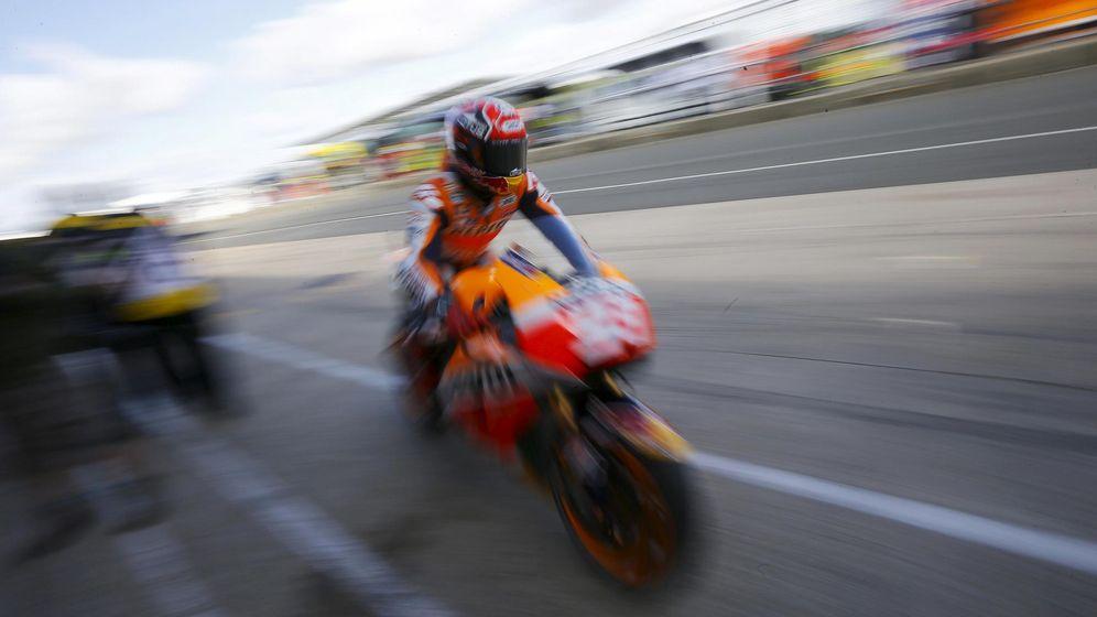 Foto: Marc Márquez en Silverstone (Reuters).