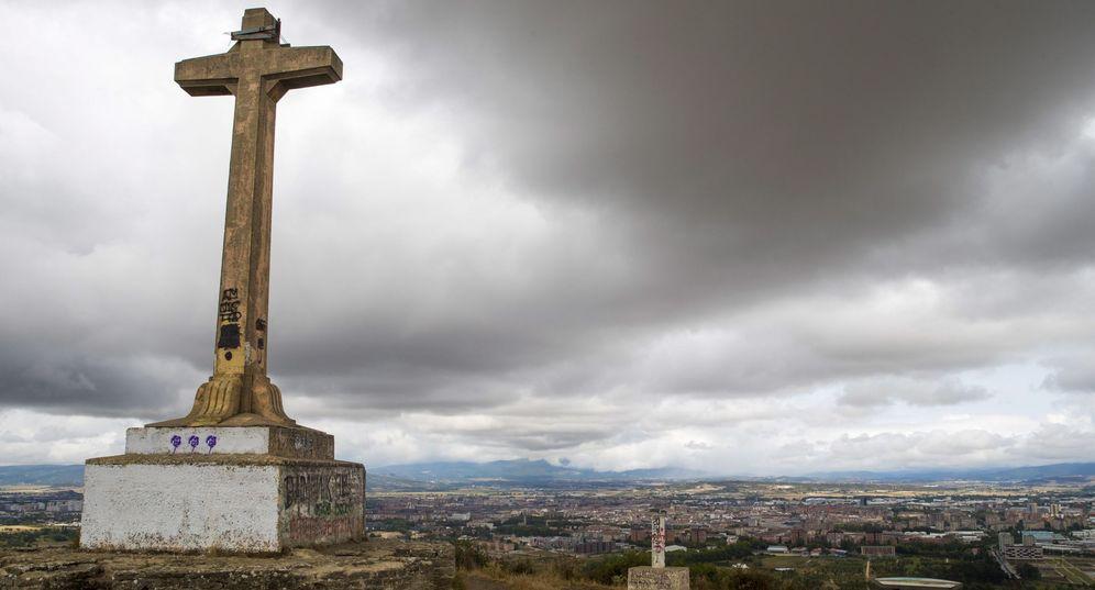 Foto: Imagen de la cruz de Olárizu. (EFE)