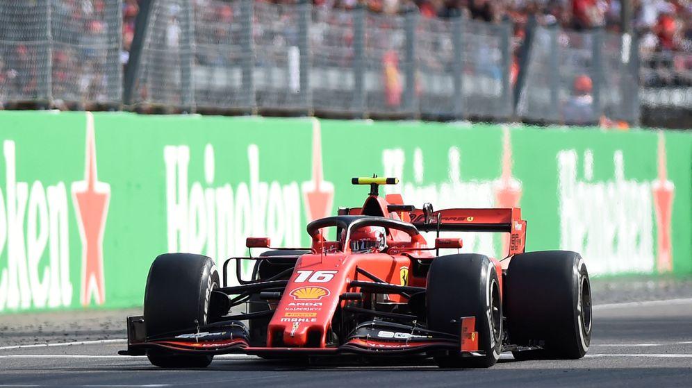 Resultado de imagen para Charles Leclerc se llevó la victoria en el Gran Premio de Italia
