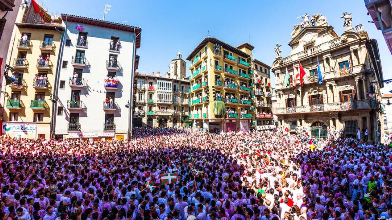 A Pamplona hemos de ir... (Foto: © Javier Martinez de la Puente/Zubiko.com)