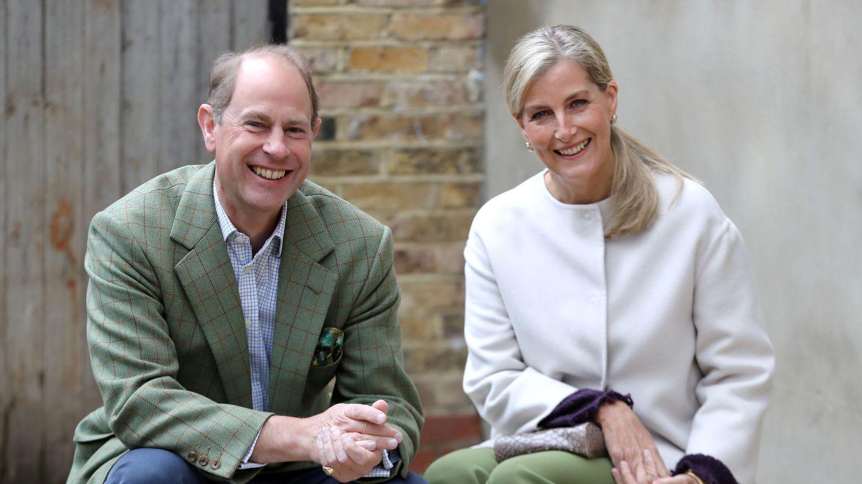 Eduardo y Sophie de Wessex. (Reuters)