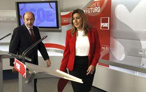 Díaz reabre hoy el diálogo con Rajoy que Rubalcaba veta desde el PSOE