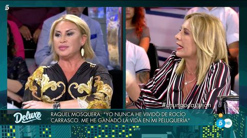 La brutal refriega entre Raquel Mosquera y Belén Rodríguez en 'Sábado Deluxe'