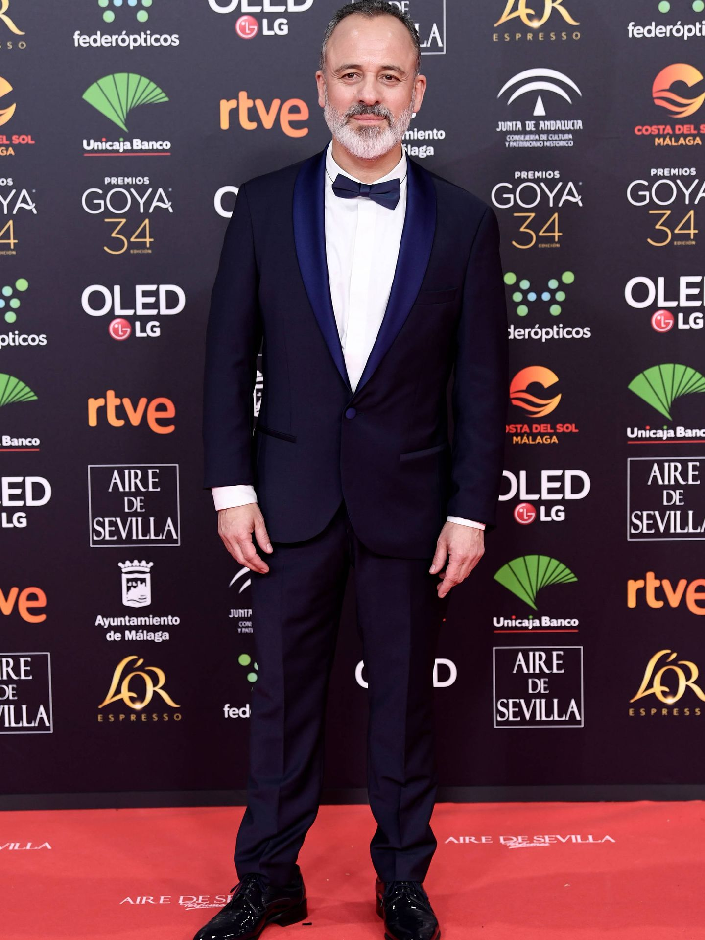 El actor, en los Goya de este año. (Getty)