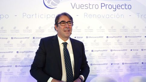 Jorge Pérez presenta su candidatura a la RFEF atizando a Villar: No le reconozco
