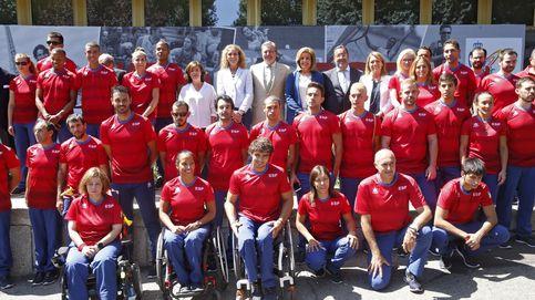 La Infanta Elena despide al equipo español que competirá en los Juegos Paralímpicos