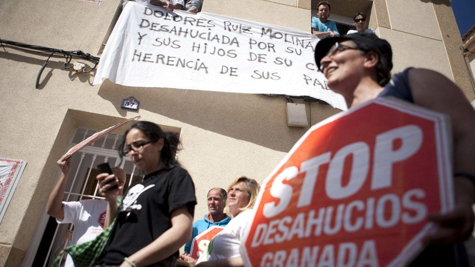 Foto: Manifestación antidesahucios. (EFE)